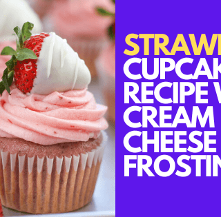 strawberry cupcakes recipe with cream cheese frosting
