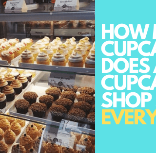 How Many Cupcakes Does a Cupcakes Shop Sells every day